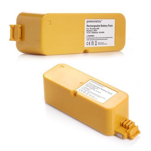 2x 14.4V 3500mAh Ni-MH Battery For iRobot Roomba 400 410 415 418 4000 4150 4220(China (Mainland))