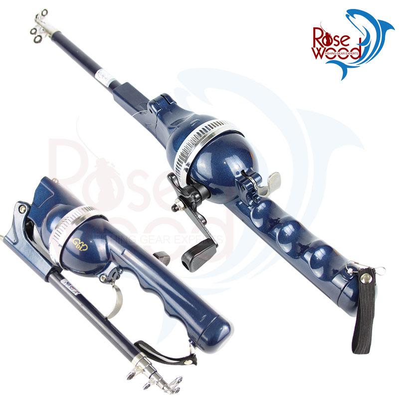 Folding mini rod folding rod telescopic pole portable fishing rod with fishing line carp fishing vara de pesca fishing tackle(China (Mainland))