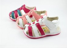 2016 Baby Girl White Sandals Infant Girl Sandals For Baby Summer Shoes female kids PU leather shoes(China (Mainland))