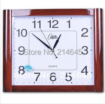 j21 Silent vintage wall clock quartz clocks in the living room
