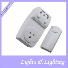 Wireless Remote Control AC Power Outlet Plug Switch