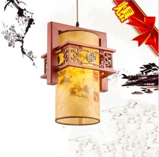 2016 Lamparas Pendant Lights Romantic Rustic Pendant Lamp Quality Solid Wood Sculpture Flower Restaurant Faux Lamps Sheepskin(China (Mainland))