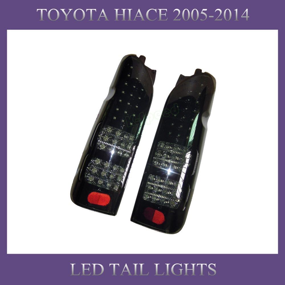 TOYOTA Hiace Parts Hiace 200 Commuter Van 2005-2014 LED Tail lamps(China (Mainland))