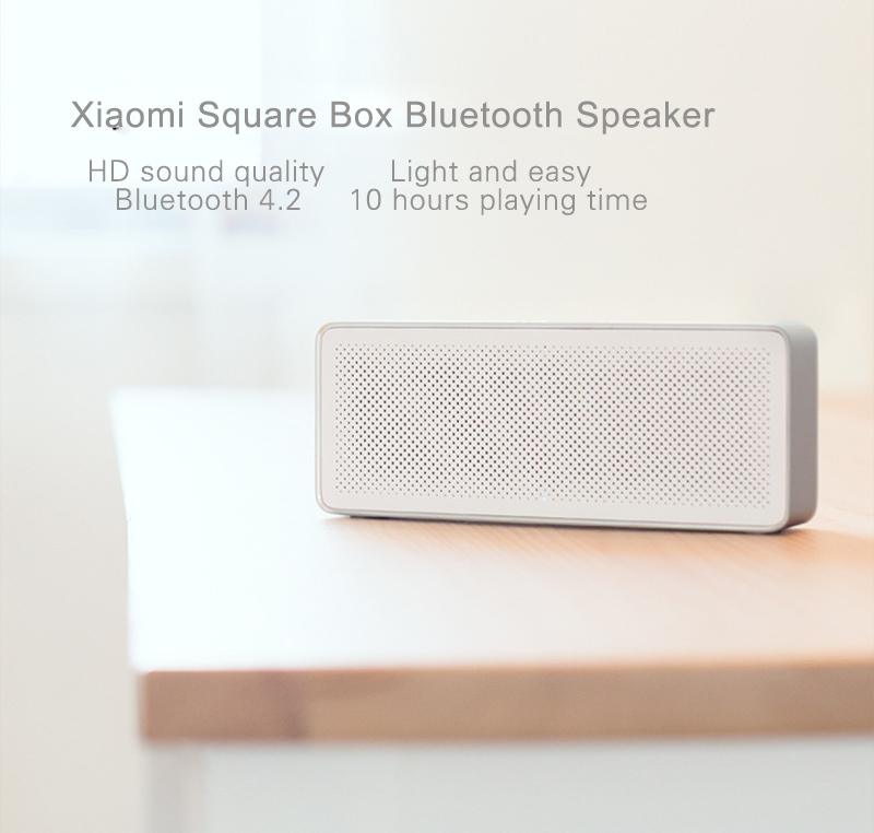 Original Xiaomi Bluetooth Speaker 2 Square Box Stereo Portable Mini Music Player MIUI Metal Wireless Speakers For Samsung Xiaomi (11)