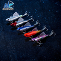 JIADIAONI 1piece Lot Fishing Lure Crankbait Minnow Hooks Fishing Tackle Luminous Lure 6 5cm 65g 5