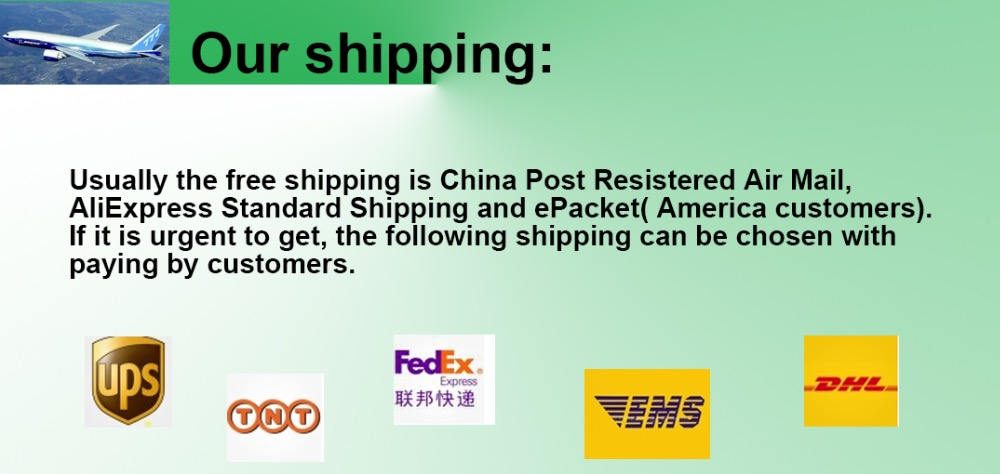 our shipping