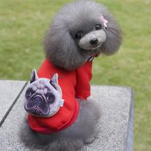 Buy New Design Brand Pet Dog Cat Clothes Coat Jacket Hoodie Small Puppy Dogs Pets Clothing Outerwear Costume Mascotas J51 for $4.93 in AliExpress store