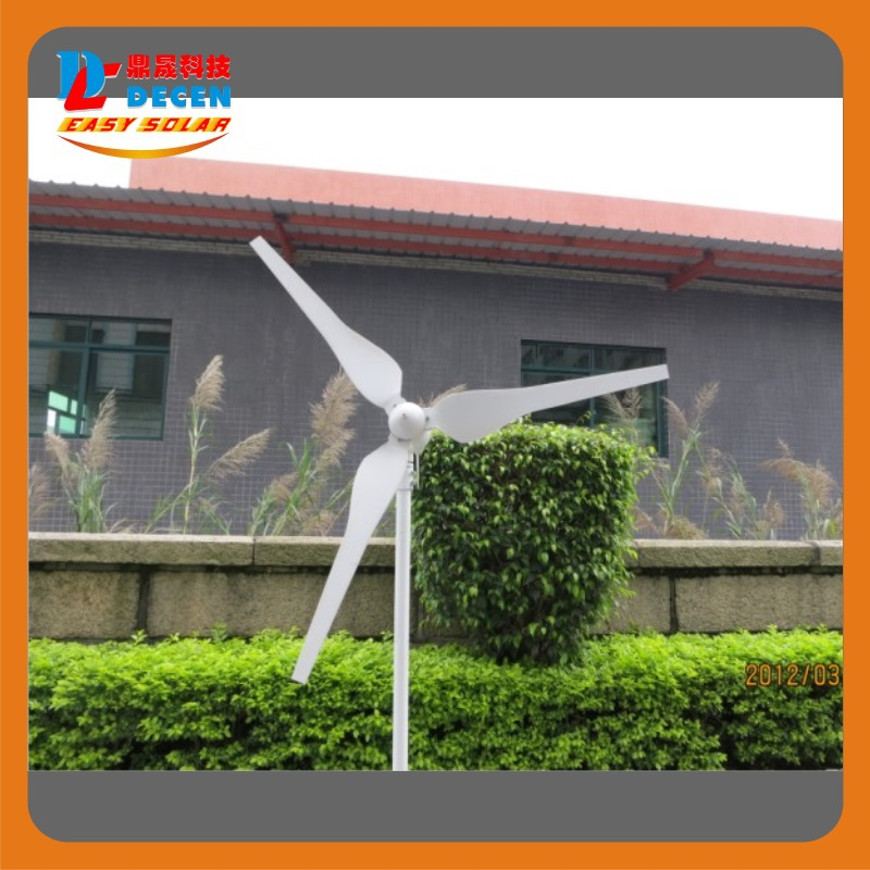 300W High efficiency wind generator Small size Low weight. Low noise Easy install Max power:400W<br><br>Aliexpress