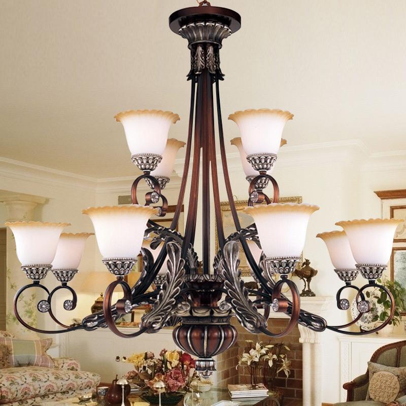 free shipping Bohemia lighting luxury fashion big lamps restaurant lamp living room pendant light 2950(China (Mainland))