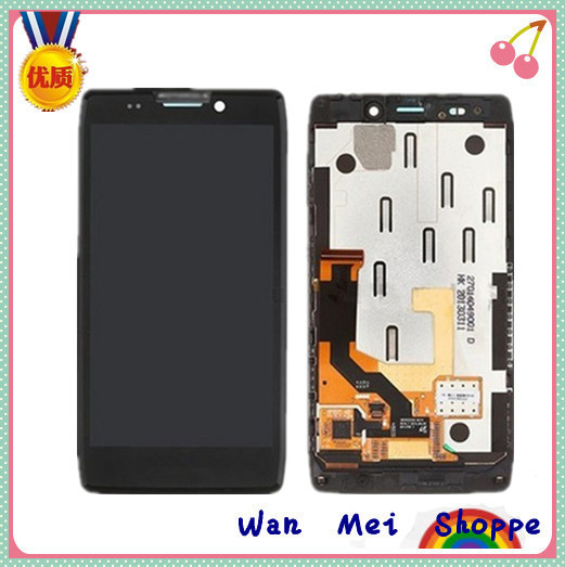 Black Glass Touch Digitizer Screen+LCD Display Digitizer Frame Assembly Replacement For Motorola Droid RAZR HD XT925 XT926(China (Mainland))