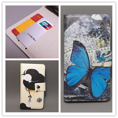 Ultra thin Flower Flag vintage Flip cover Sony Xperia L S36H C2105 C2104 cell phone Case Freeshipping - leather case111 store