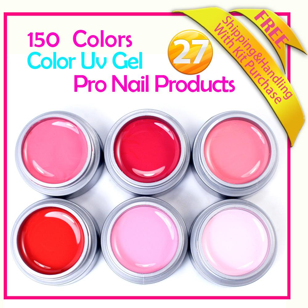 uv builder glitter 6 pcs nail glitter Free shipping<br><br>Aliexpress