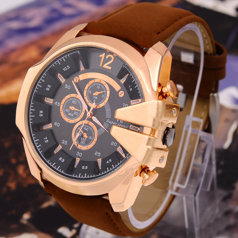 2016 casual fashion watches men luxury brand analog sports military watch quartz relogio masculino - cason's store