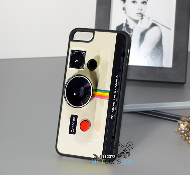 for Polaroid Land Camera Old School Retro cell phone case cover for iphone 4 4S 5 5S 5C 6 6 plus 6s 6s plus &op7182(China (Mainland))
