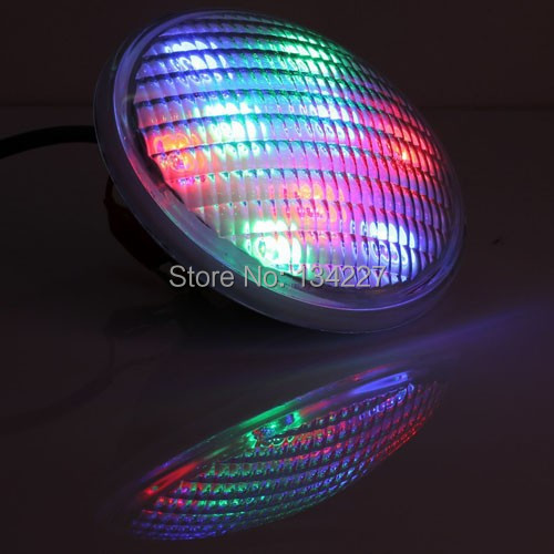 Stock in Germany China Factory Direct Supply 54W RGB Stainless Steel LED Swimming Ponl Par56 Lights AC12-24V IP68 CE FCC&ROHS(China (Mainland))