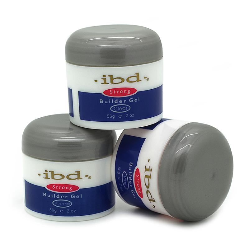3 Colors Ibd 56g Strong Soak Off UV Builder Gel Nail Gel Polish Extension Base Gel Nail Manicure Nails Gel Professional UV Lamp(China (Mainland))