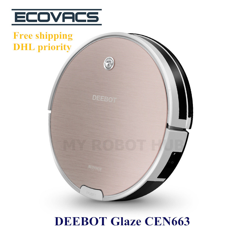 Robot Vacuum Cleaner Ecovacs DEEBOT Glaze CEN663 Floor Cleaning/Mopping Robot(China (Mainland))