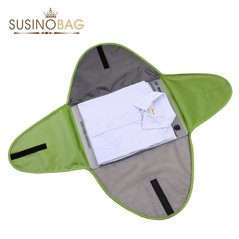 Гаджет  Shirt packing folder tote Travel Bags top quality practical Folding Bags business trip useful Storage clothes organizer None Камера и Сумки