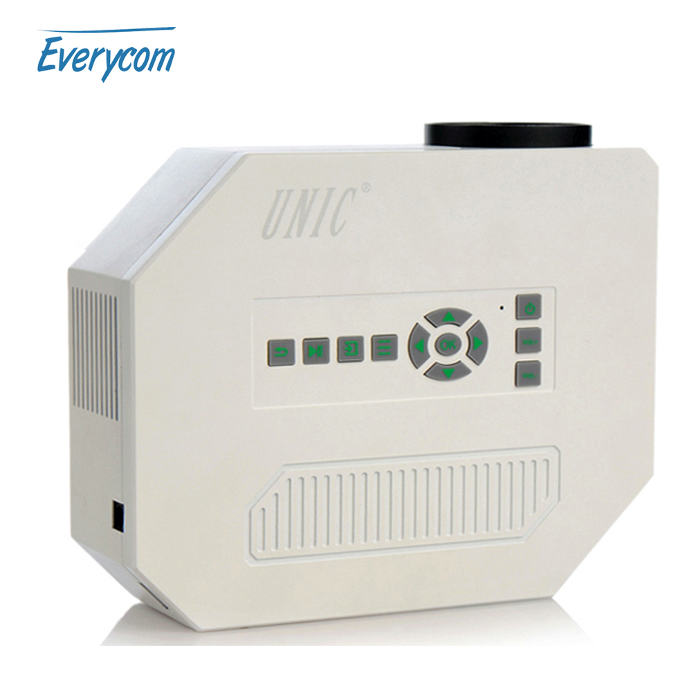 Original unic uc30 cheap mini projector av usb sd vga for Miniature projector