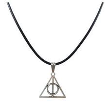 13 Style New Tibetan Silver Jesus Cross Tree of Life Pendant Necklace Black Leather Cord Choker