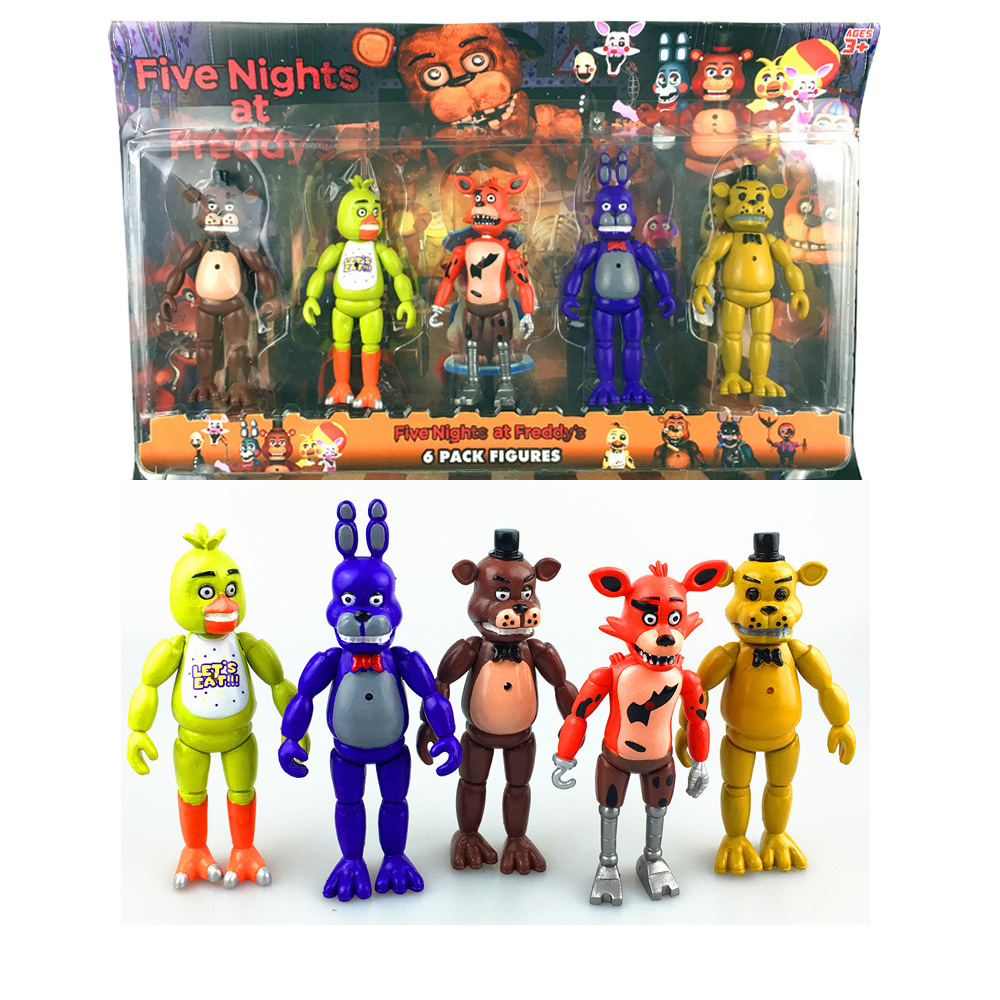 5 Nights At Freddy Toys : Five nights at freddy s fnaf inch pvc action figure