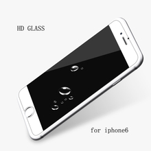 0.3mm 9H tempered glass For iphone 5 5s 6 6s plus screen protector protective guard film front case cover +clean kits