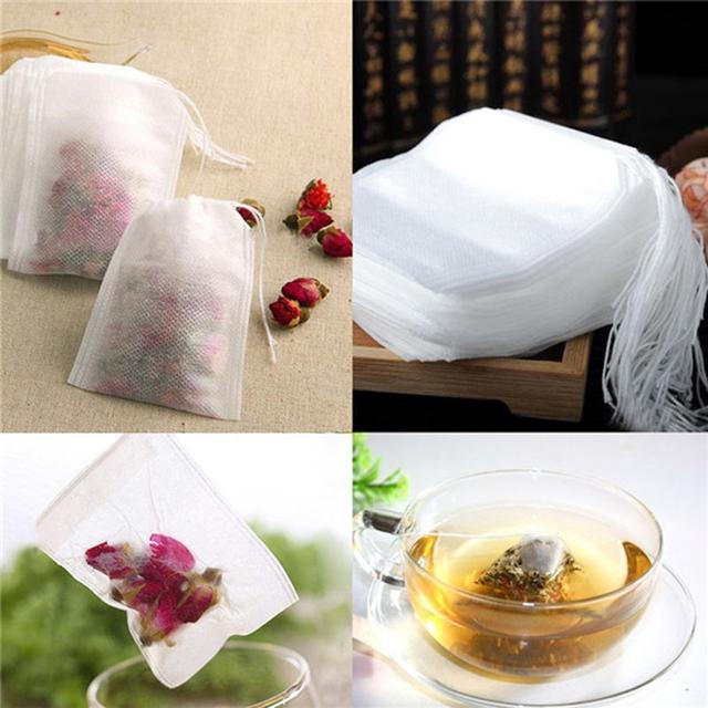 Torebki do parzenia własnej herbaty lub ziół