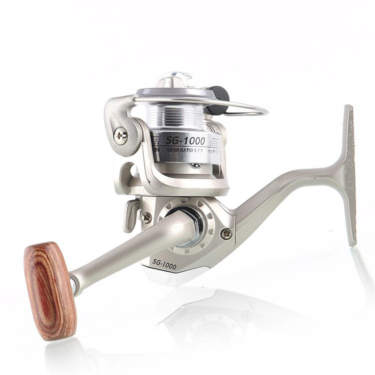 2013 Hot 6 BB 6BB High Quality Spinning Fishing Reel left and right hand Aluminum SG 1000 Free Shipping for outdoor sports(China (Mainland))