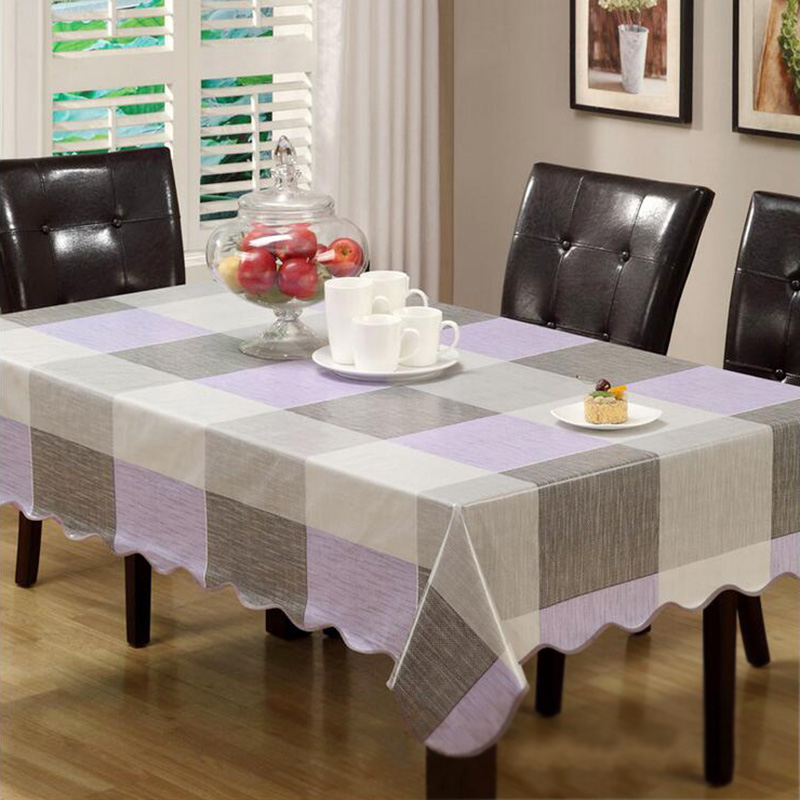 pvc tablecloth waterproof plastic disposable round table wipe clean pvc vinyl dining kitchen table cover sizes - Kitchen Table Covers Vinyl
