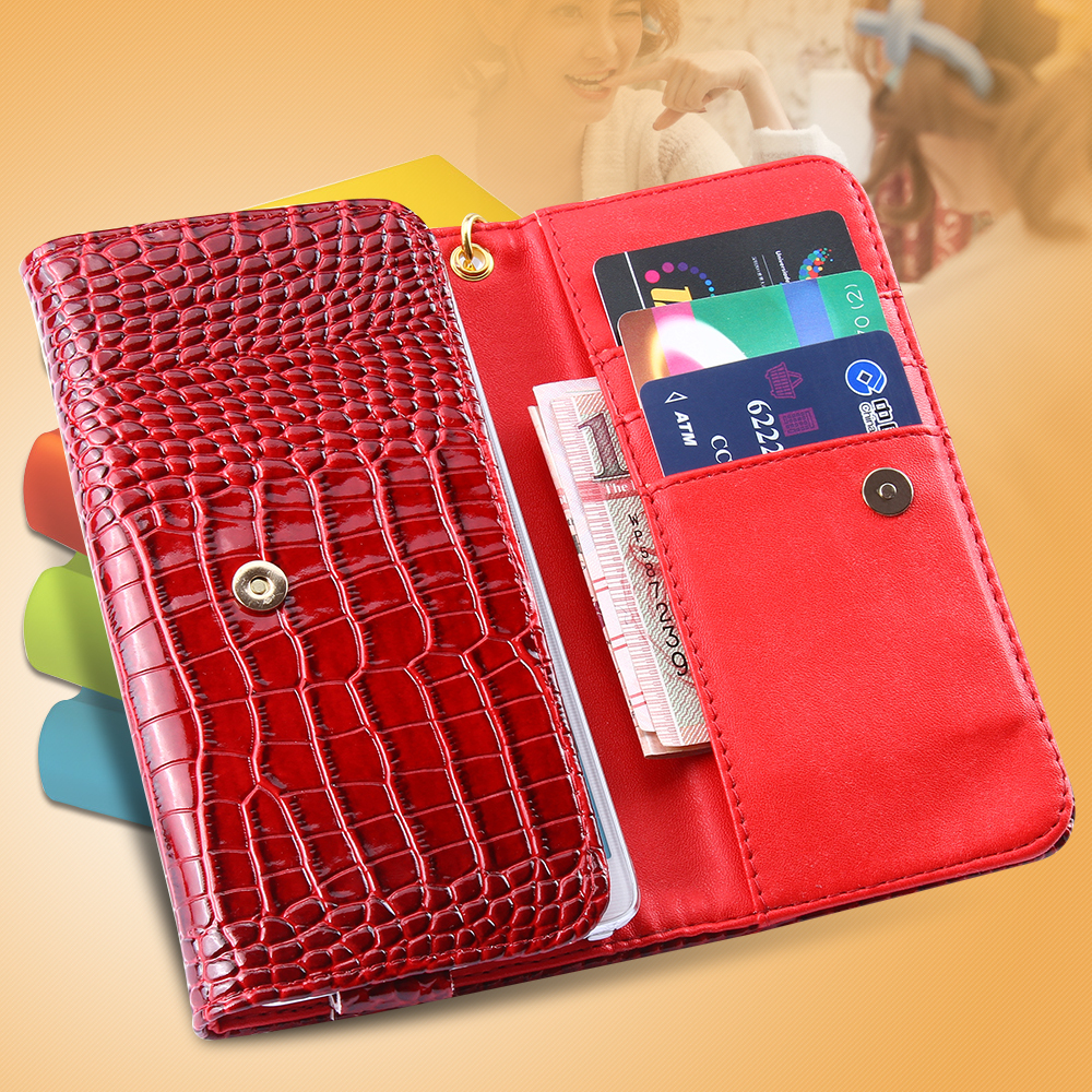 4.7 inch Universal Mobile Phone Cases Luxury Crocodile Pattern Folded Wallet Leather Case iPhone 6 4.7inch/ 6S  -  RCD Trading Company store