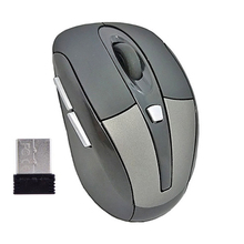2.4G 1600DPI USB Wireless Mice Optical Mouse With Scrolling and Back Buttons, Nano USB Receiver(China (Mainland))