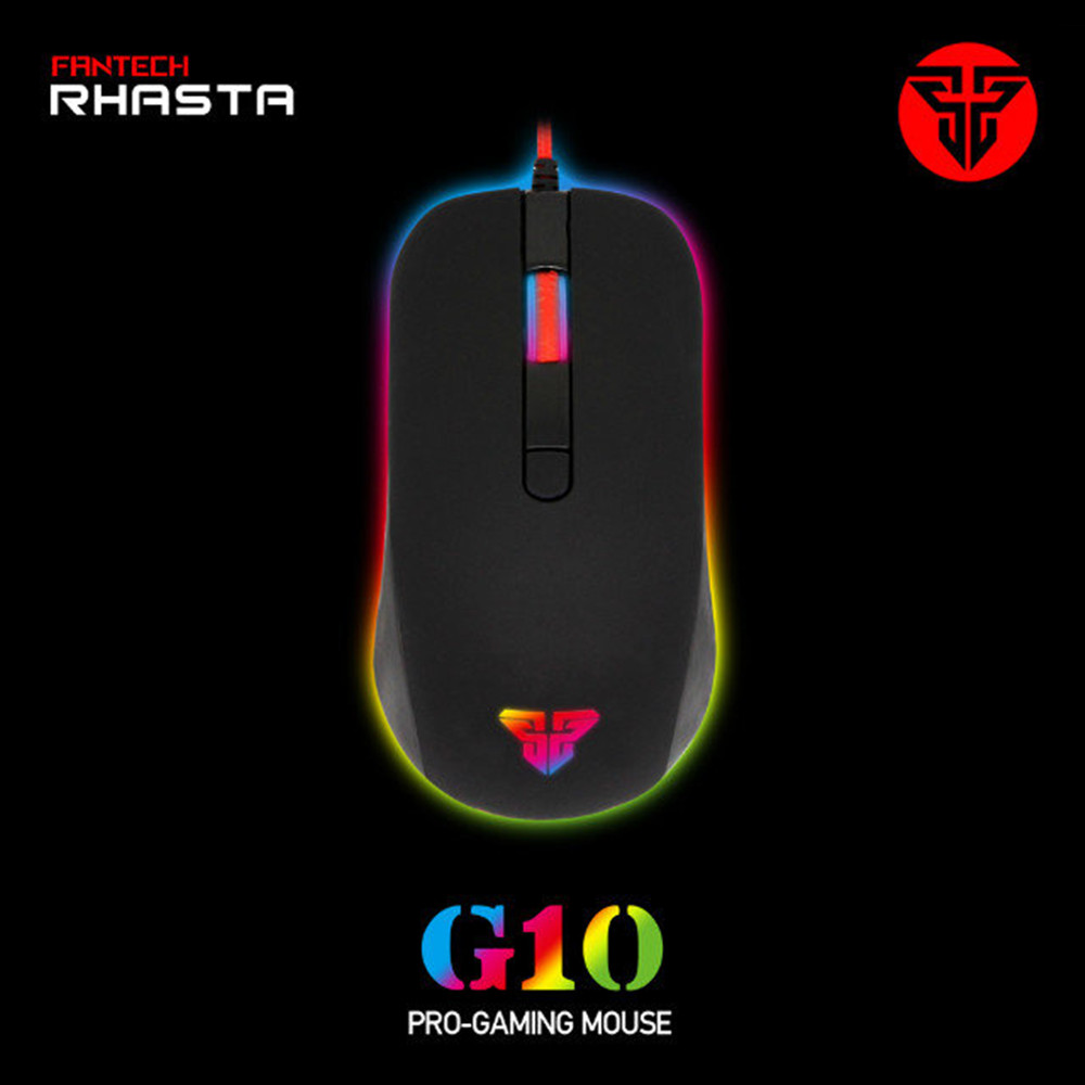 100% Newest Brand FANTECH G10 2400DPI LED Optical USB Wired game Gaming Mouse Gamer For PC Computer Laptop Perfect Upgrade(China (Mainland))