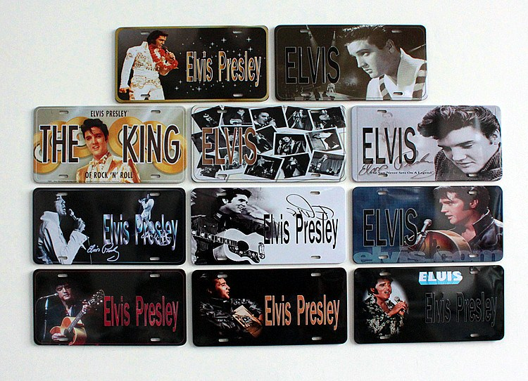 Elvis Presley vintage metal signs retro metal painting wall stickers home decor cafe office home wall decoration metal craft