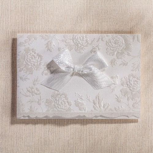 Buy pearl white wedding invitation cards for Pearl wedding invitations