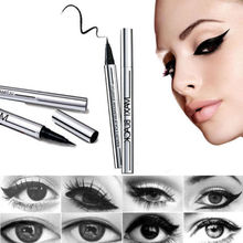 1 X NEWEST Women Ladies Extreme Black Liquid Eyeliner Waterproof Make Up Eye Liner Pencil Pen HOT Makeup Beauty Tool(China (Mainland))