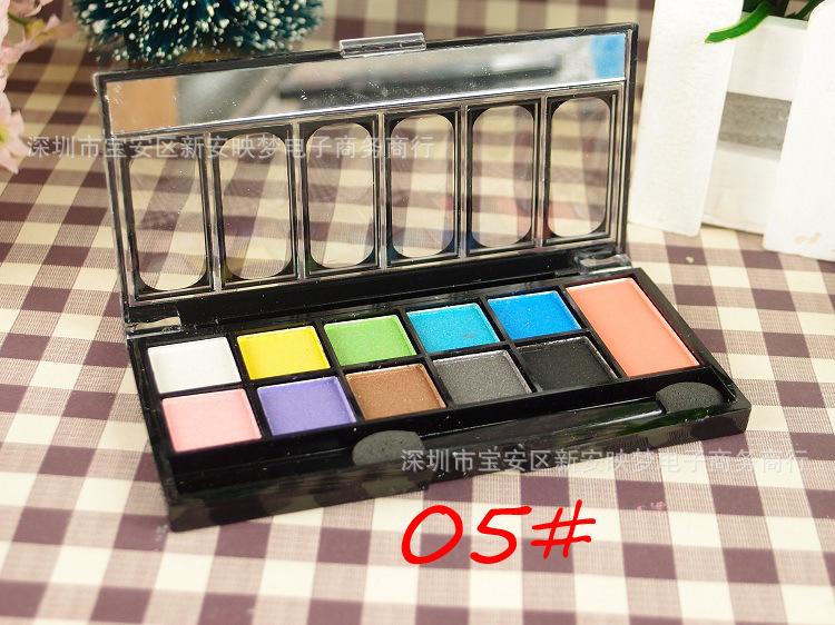 10 + 1 multiple combinations eyeshadow 1pcs(China (Mainland))