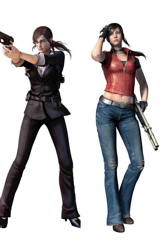 Resident evil Claire redfield Dakimakura / Hugging Pillow Case #1009 (full color) - zou chuangning's store