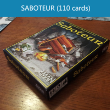 Inglés saboteador 1 / saboteador 2 expansión / plástico sellada / VIP paquete / paquete simple opcional juego de tarjeta de juego de mesa juego(China (Mainland))
