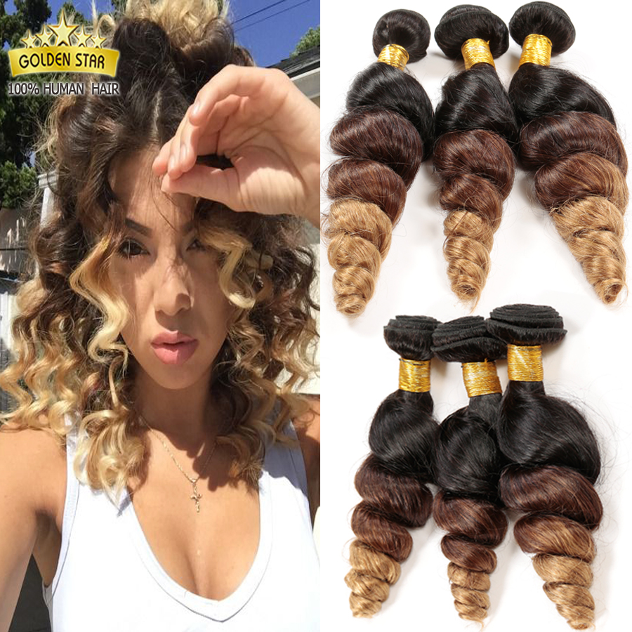 7a Ombre Malaysian Loose Wave Virgin Hair Ali Moda Products Maylasian Hair 4bundles Three Tone Color Ombre Human Hair <br><br>Aliexpress