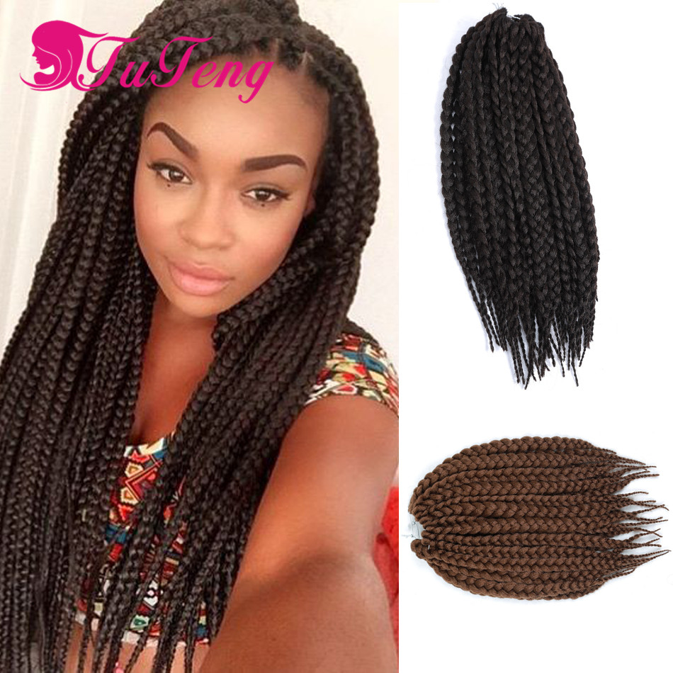 box braids african braids senegalese twist hair extension cheveux ...