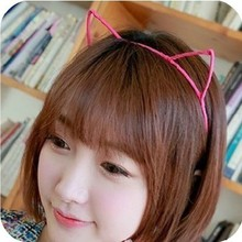 [6176] elastic band bracelet summer style hair accessories women headband clips gum weave baffle braided bow bandana ornaments