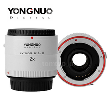 Yongnuo YN-2.0X III PRO 2x Camera Lenses Teleconverter Extender Auto Focus Mount Lens for Canon EOS EF Lens(China (Mainland))