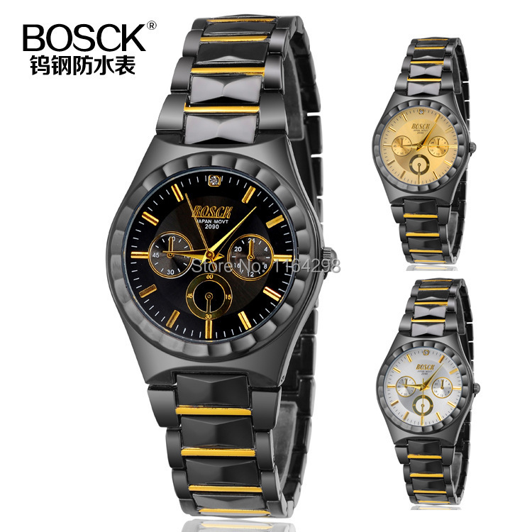 2015 Mens Fashion Casual Watches Men Luxury Brand Business Full Steel Quartz Watch Top Male Waterproof Calendar Wristwatches<br><br>Aliexpress