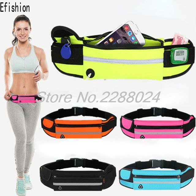 Waist Belt Pouch Phone Case Cover Running Jogging Bag For Ulefone Power Vernee Apollo Lite BQ BQS-5020 Vernee Thor UMI Touch(China (Mainland))