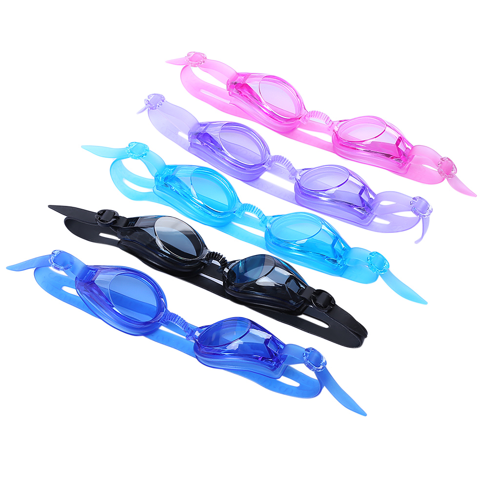 2016 New Protected Waterproof High Quality 5 Colorful Durable Swimming Goggles Glasses For Men Women and Kids Swimming Equipment(China (Mainland))