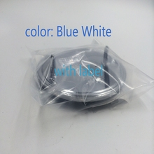 CAR Styling Blue White 82MM/74mm Front Hood Emblem Rear Trunk Logo Badge Decal Roundel E36 E46 E39 E38 E90 E60(China (Mainland))