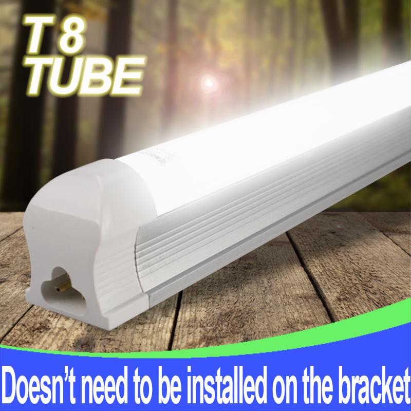 1PCS LED T8 integrated tube 9w 600mm 180v-265v free shipping 2ft wholesales price high quality LED Lamp Lighting(China (Mainland))