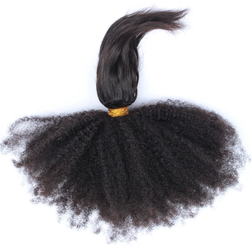 Mongolin Afor Kinky Curly Virgin Hair 7A 4C Rosa Queen Hair Products Human Braiding Bulk Hair Extensions Curly Weave Human Hair