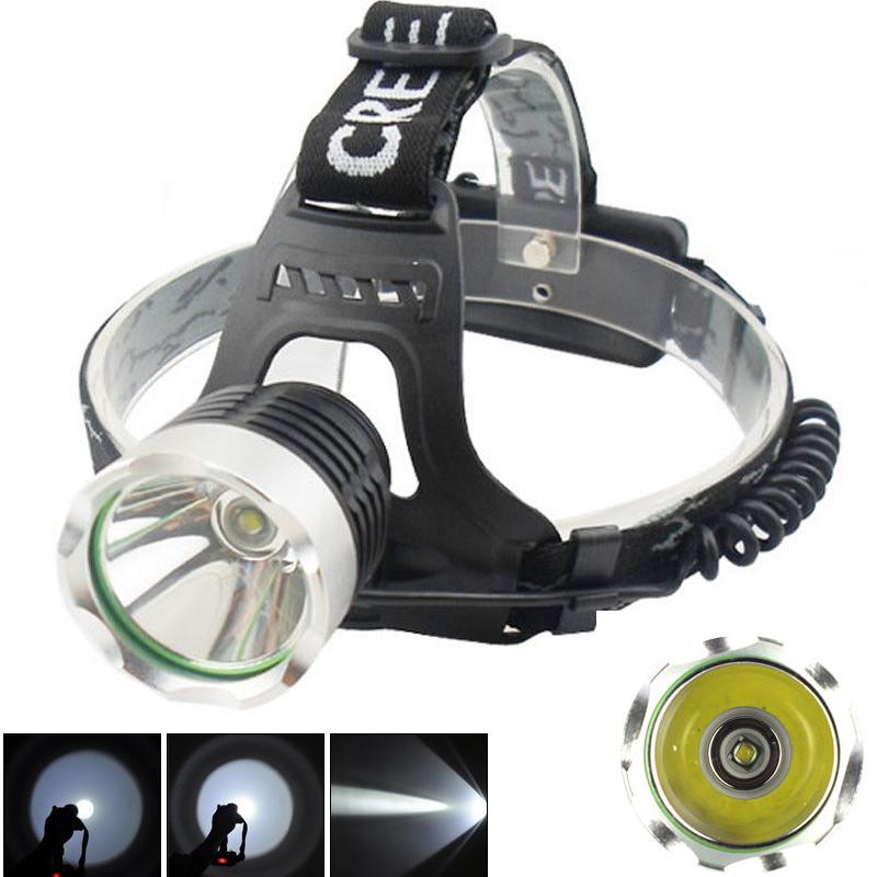 Гаджет   CREE XML T6 Cree Headlamp LED Headlight T6 LED Head lamp 2000lm Flashlight Head Torch 3 mode  None Свет и освещение
