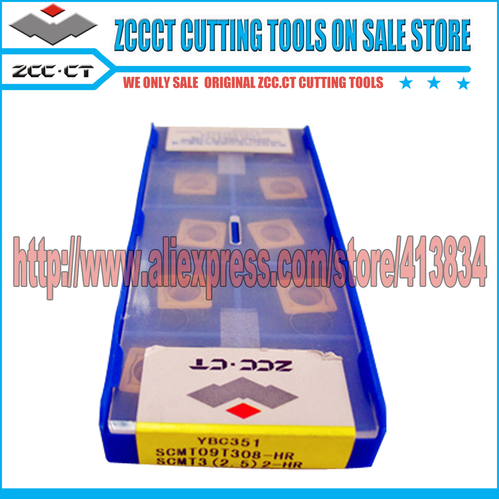 Free Shipping (40 inserts/Lot) SCMT 09T308-HR YBC351 ZCC.CT Cemented Carbide CNC Cutting Tools Turning Inserts(China (Mainland))